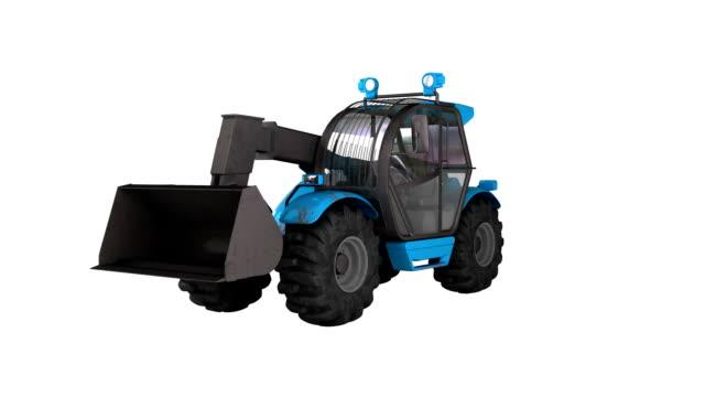 Matériel agricole tracteur Bulldozer - Vidéo