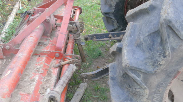 Agricultural tractor video