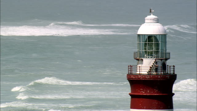 L'Agulhas And Africa's Southernmost Point  - Aerial View - Western Cape,  South Africa video