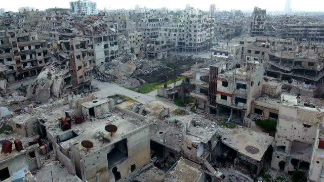 stockvideo's en b-roll-footage met lucht aanval oorlog plaats - conflict