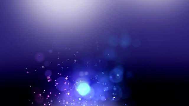 stockvideo's en b-roll-footage met luchtbelletjes op hazige paarse achtergrond - depth vector