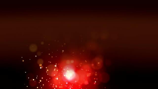 stockvideo's en b-roll-footage met luchtbellen op een hazige rode achtergrond - depth vector
