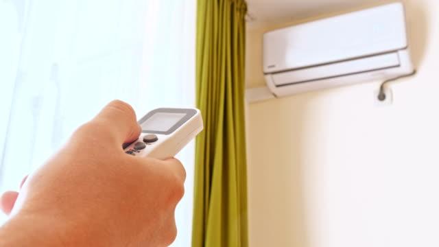 エアコン冷房新鮮なエネ - エアコン点の映像素材/bロール