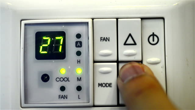 Air conditioner Digital thermostat video