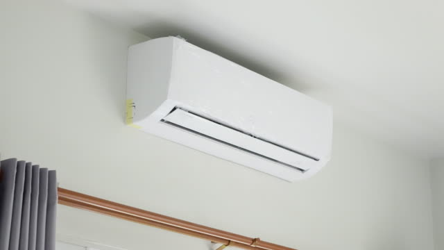 Air Conditioner, time lapse 4k video