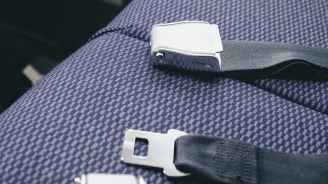 Air Plane Seat Belt in Flight video