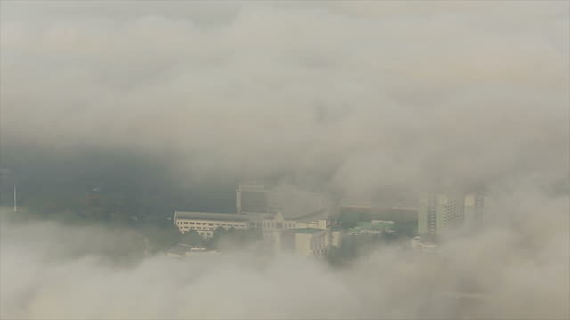 Air pollution over Thailand cityscape