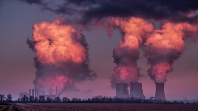 Air Pollution - Power Plant video