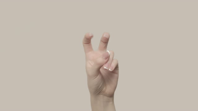 air quotes fingers marks set 2 hand gestures