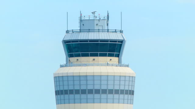Air Traffic Control Tower at Airport video