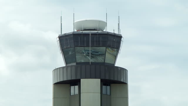 Air Traffic Control Tower Close-up video