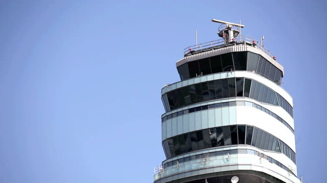 Air traffic control tower video