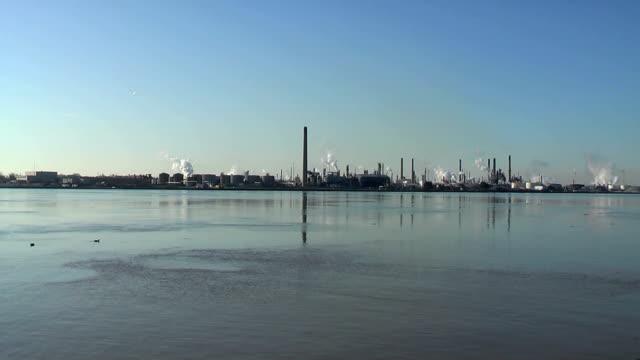 Air & Water Pullution (HD,NTSC) video