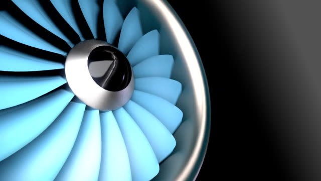 Aircraft Engine - Seamless Loop video