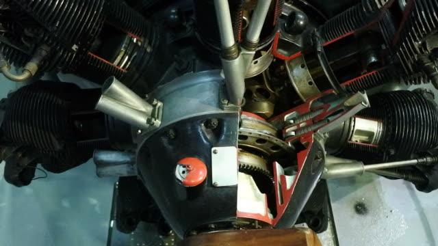 Aircraft engine video