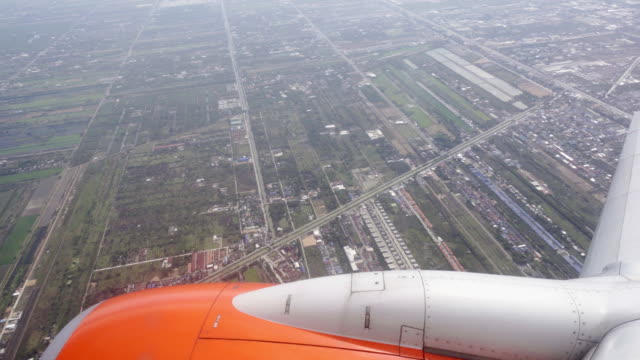 Aircraft wing flying