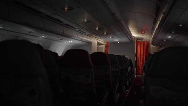 Airplane cabin video