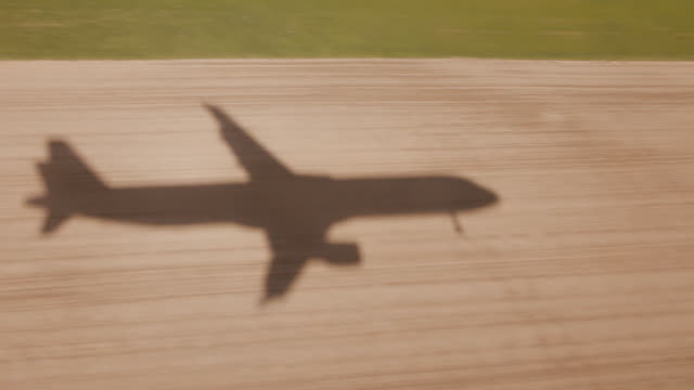 Airplane crash video