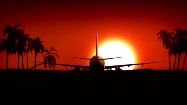 HD:  Flugzeug Landung in Afrika – Video