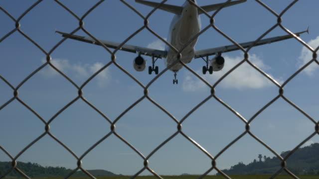Airplane Landing.(4K) Airplane Landing homecoming stock videos & royalty-free footage