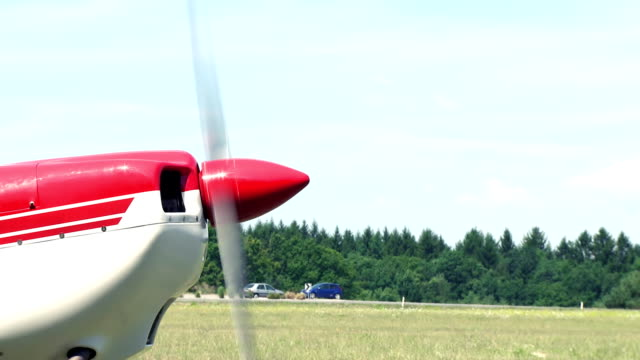 Airplane propeller Close up of airplane propeller. propeller stock videos & royalty-free footage