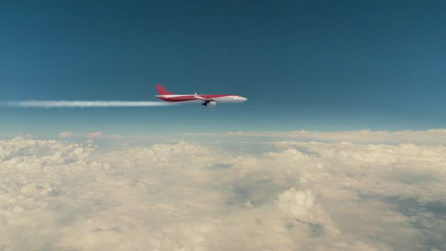 stockvideo's en b-roll-footage met vliegtuig serie - broeikasgas