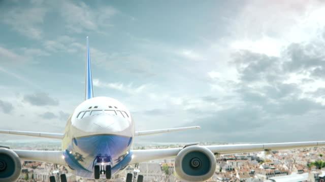 Airplane Take Off Dijon France video