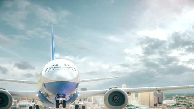 Airplane Take Off Kansas city Missouri video
