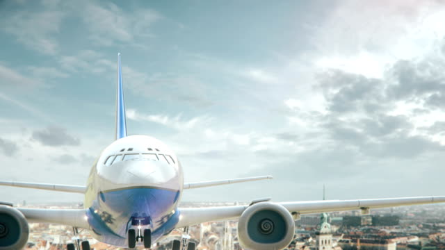 Airplane Take Off Munich Germany video