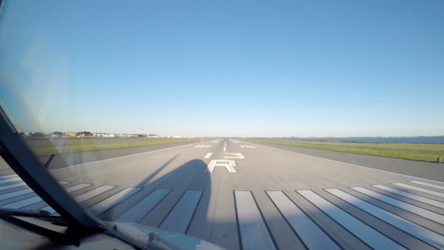 Airplane Take Off (POV) Airplane Take Off cockpit stock videos & royalty-free footage