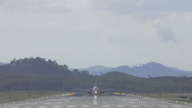 Airplane takeoff.(4K) Airplane takeoff. homecoming stock videos & royalty-free footage