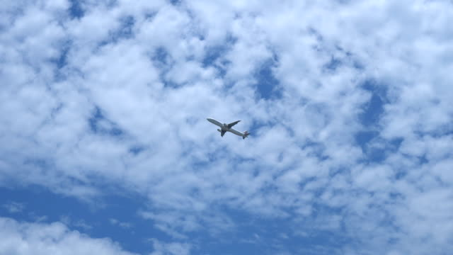 空港から離陸する航空機 - ローアングル点の映像素材/bロール