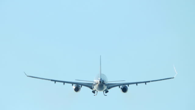Airplane taking off from Phuket Airport video