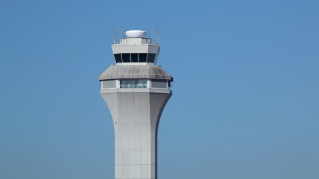 HD airport air traffic control tower ATC video
