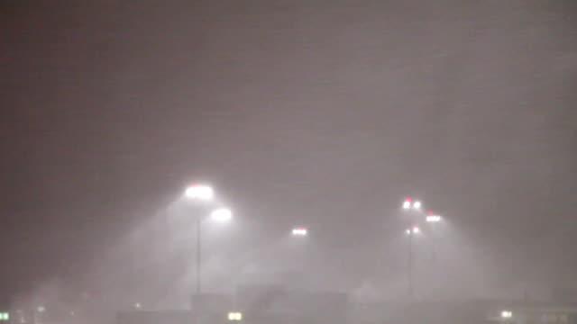 Airport Blizzard: Boston video
