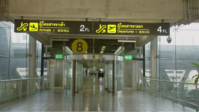 airport door