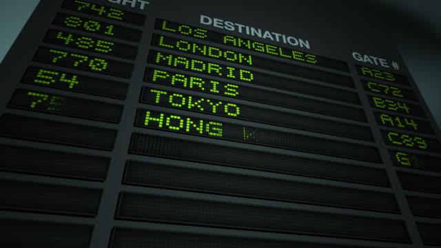 port lotniczy informacje dotyczące lotu statku - zachodnie pismo filmów i materiałów b-roll