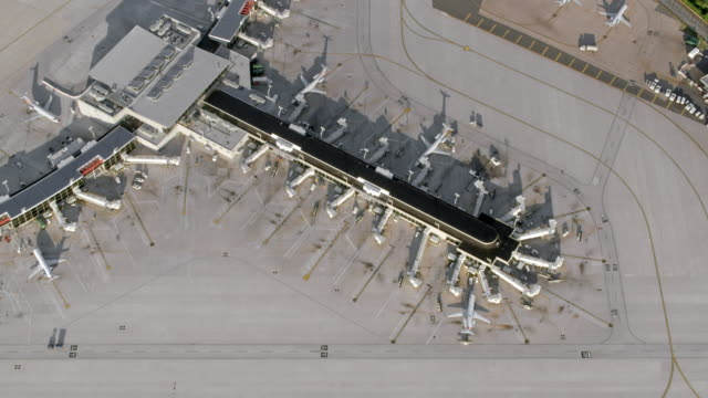 AERIAL Airport in Philadelphia, Pennsylvania video