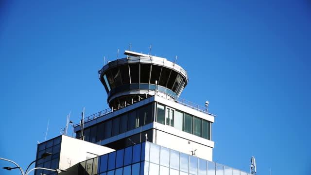 stockvideo's en b-roll-footage met luchthaven. uitkijktoren - schiphol