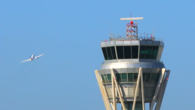 Airport Radar Control Tower video