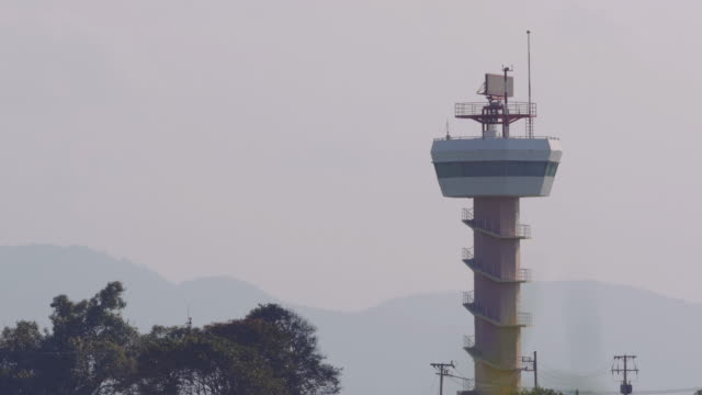 Airport Radar Tower video