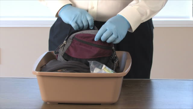 TSA Airport Security Searches Carry On Items video