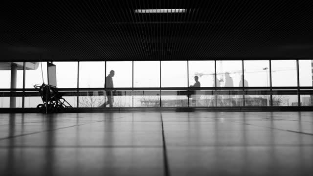 stockvideo's en b-roll-footage met airport terminal, multiple exposure video - schiphol