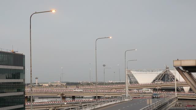 Airport traffic video