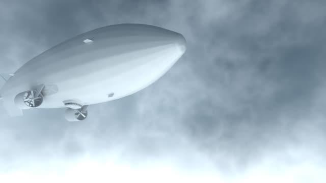 Airship Flyby render video