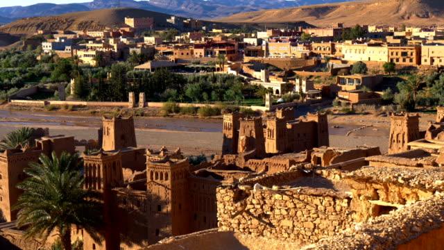 Ait Benhaddou, Marokko. UNESCO-Weltkulturerbe. 4K, UHD – Video