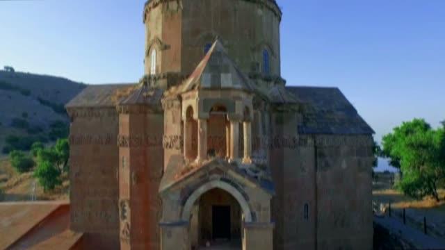 Akdamar Armenian Church Aerial Video video