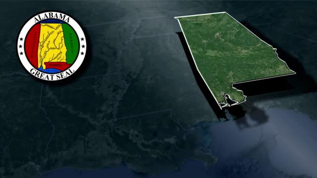 Alabama Seal and animation map