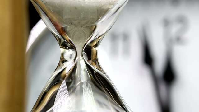 Alarm clock and Hourglass video