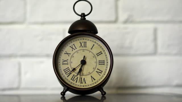 alarm clock on window sill video